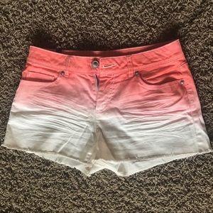 Ombre Lauren Conrad shorts